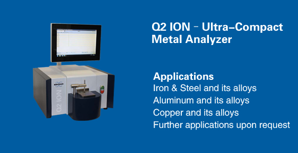 Optical Emission Spectrometer Q2 ION